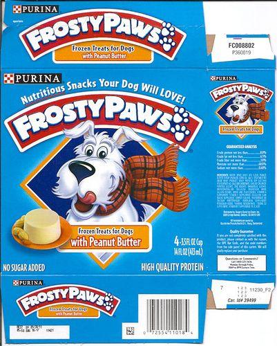 Fabulous Purina Frosty Paws Frozen Dog Treats Box By Gregg Koenig Beutiful Home Inspiration Truamahrainfo