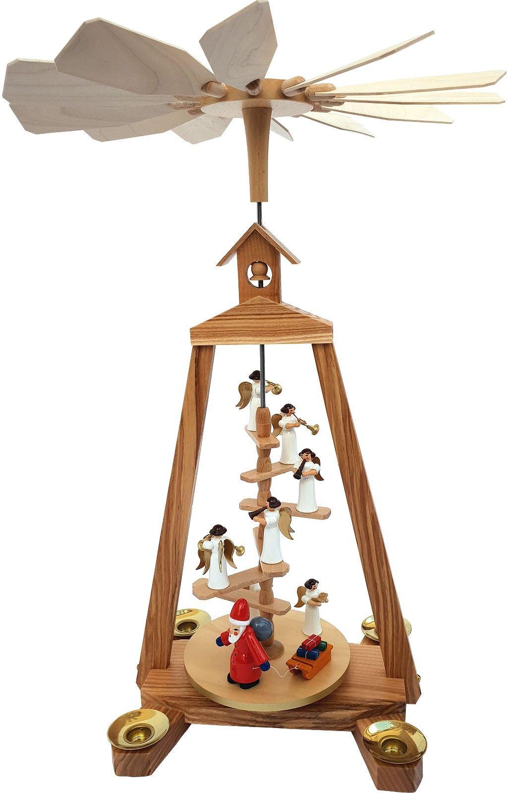 seiffener handwerksschau treppenpyramide weihnachtsmann. Black Bedroom Furniture Sets. Home Design Ideas