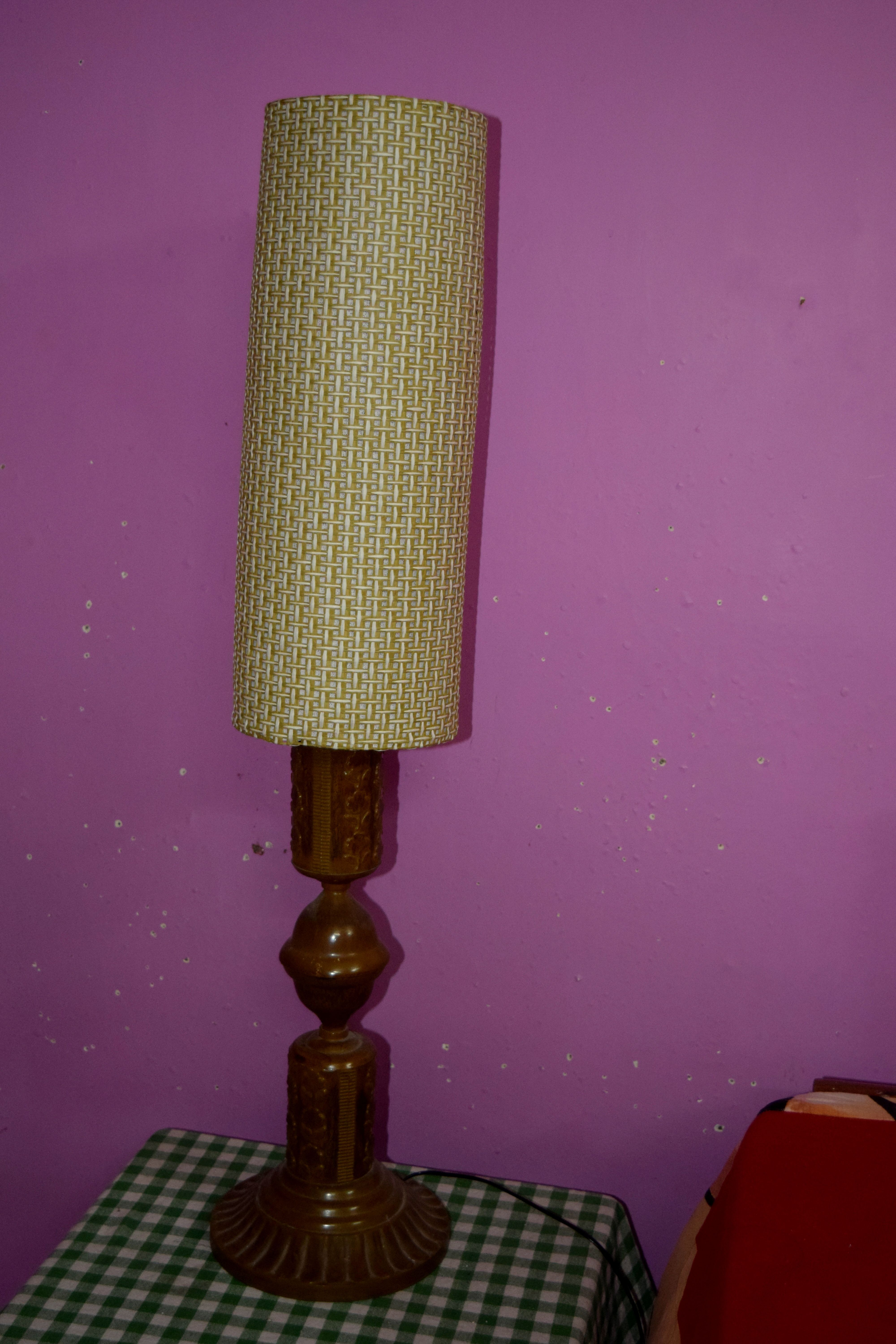 9) Fix The Lampshade Frame To The Lamp Stand