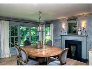 Love this dining room... and the fireplace is to die for! Great home, click link to view more photos.