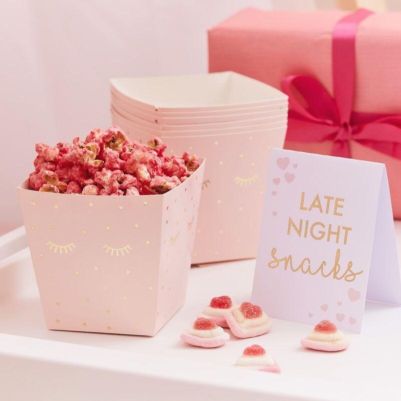 Popcorn Tuten Rosa In 2020 Rosa Snacks Partyessen Kinder Spa Geburtstagsfeier