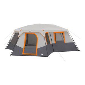 12-Person 4-Season 3 Room Instant Family C&ing Cabin Tent w/ Screen  sc 1 st  Pinterest & 12-Person 4-Season 3 Room Instant Family Camping Cabin Tent w ...