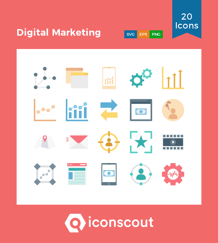 Download Digital Marketing Icon Pack Available In Svg Png Eps Ai Icon Fonts Marketing Icon Digital Marketing Business Icon