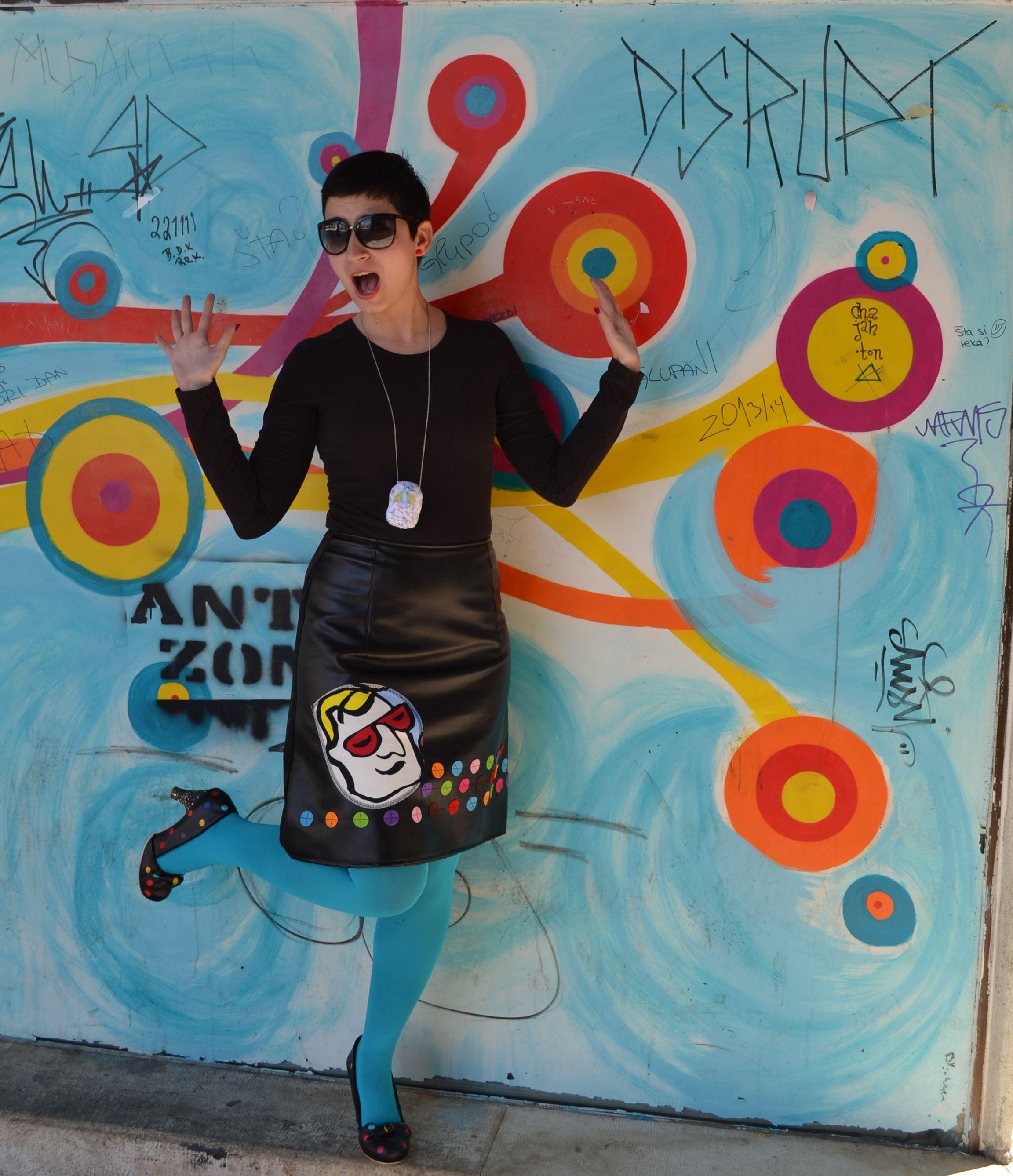 sito affidabile prezzo incredibile scelta migliore Pop Art stole my heart: Bite My Style skirt, H&M stockings ...