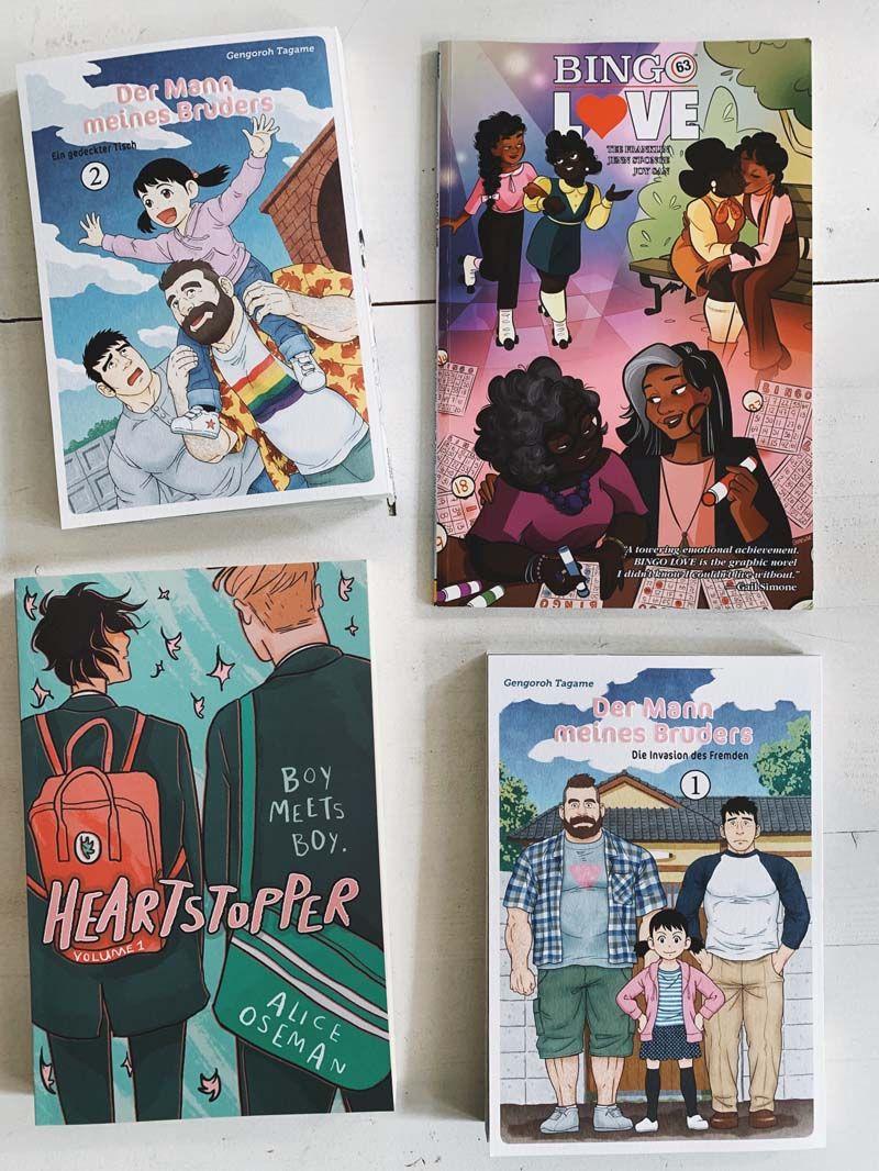 Farbenfrohe Favoriten Comic Manga Textile Lieblinge Graphic Novel Manga Comic