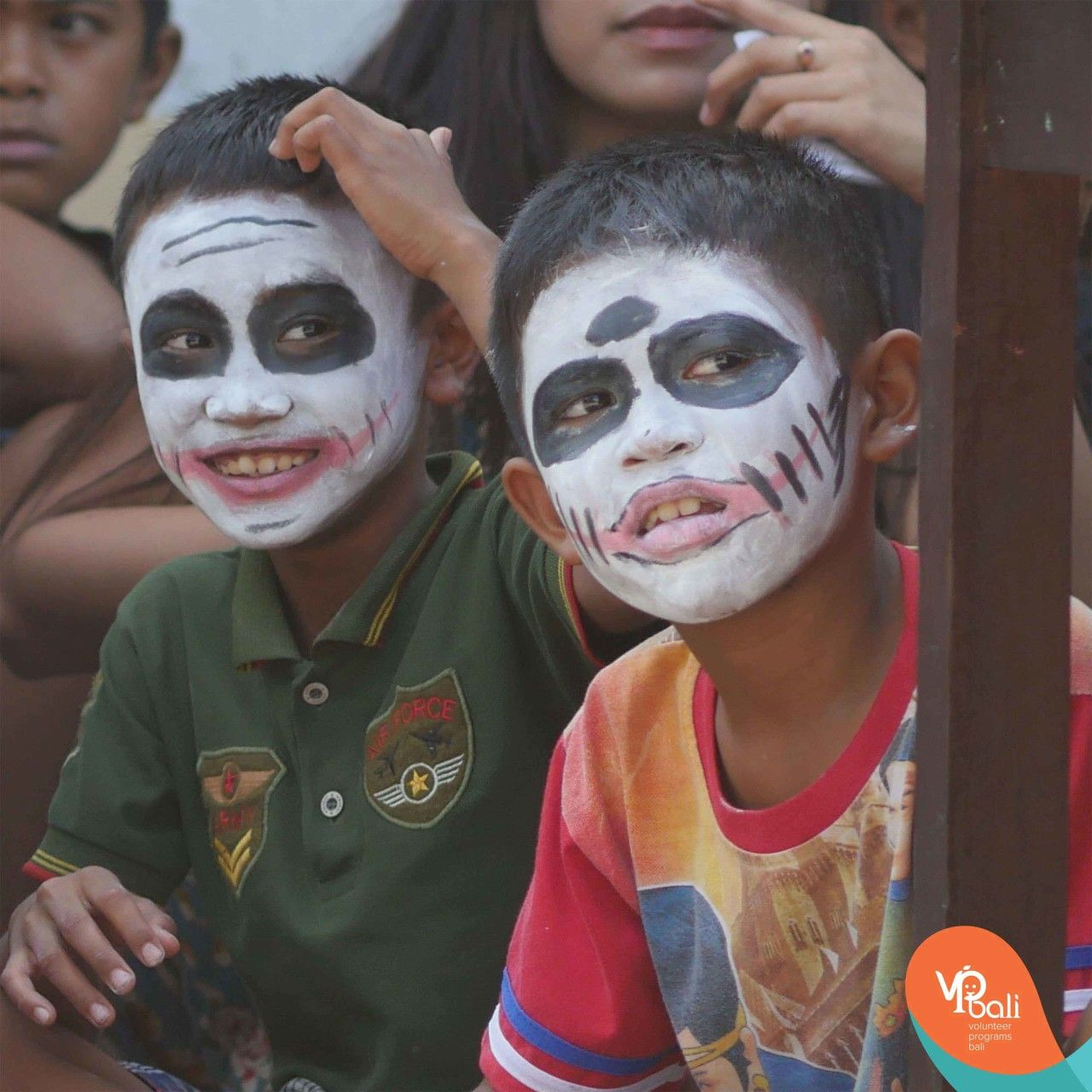 Halloween in Bali! Even though this is not a tradition in