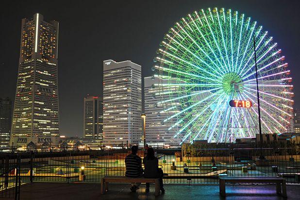 夜景プロが選ぶ 横浜みなとみらいの最新 穴場デートスポット レッツエンジョイ東京 横浜みなとみらい 美しい風景 夜景