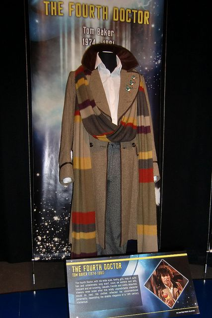 4th Doctor costume by The Doctor Who Site via Flickr & 4th Doctor costume | Pinterest | Doctor costume Cosplay and Geeks