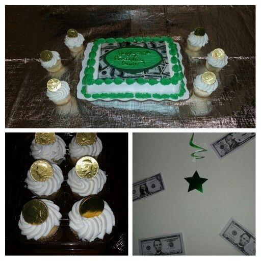 Money theme birthday party Husbands 30th Money Themed Birthday