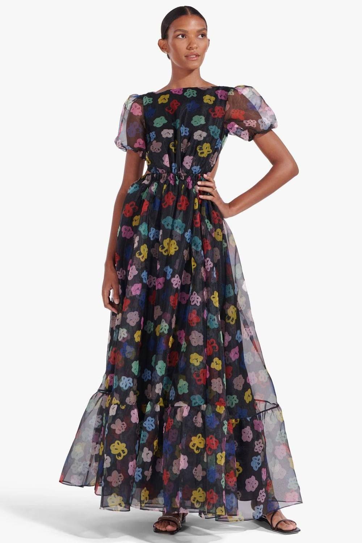 Penelope Dress Rainbow Bloom Black Select Dress Dresses Black Tie Dress [ 1500 x 1000 Pixel ]