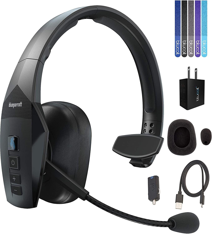 Pin On Single Ear Bluetooth Headsets