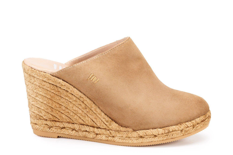8e894a81fdf Estreta Suede Clogs - Camel | Products | Espadrilles, Clogs, Women's ...