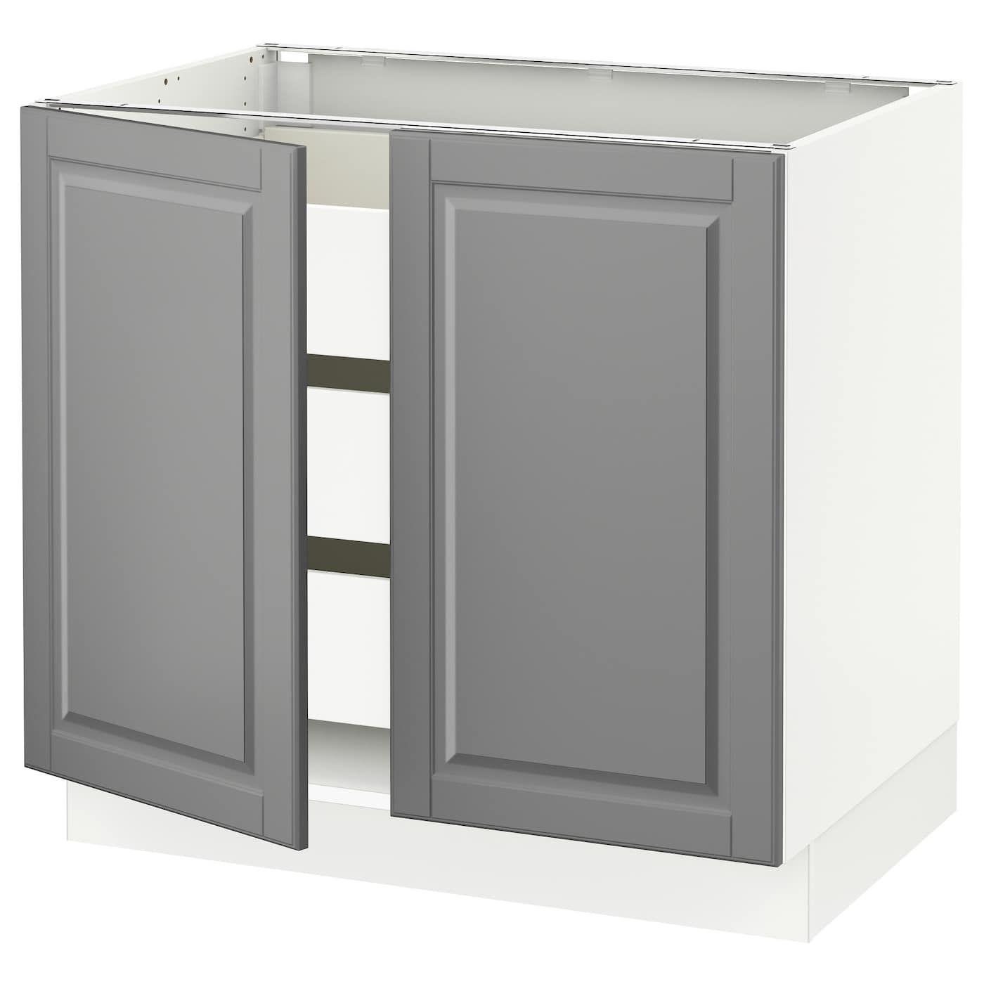 Best Ikea Sektion White Base Cabinet W 2 Doors 3 Drawers 400 x 300