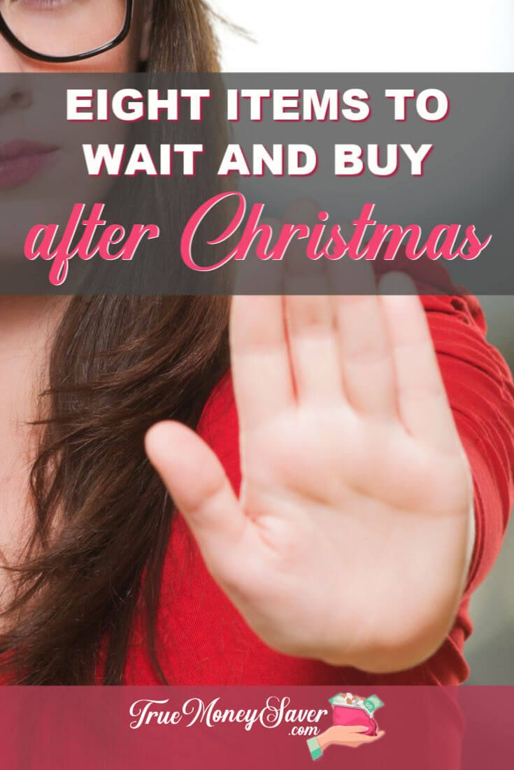 What after Christmas deals are you waiting for? Here are my things to wait until after Christmas to buy! These things to buy after Christmas will help your budget all year long! Don't miss these deals to get during the after Christmas sales! Start your list here!  #truemoneysaver  #christmas  #christmasdeals  #gooddeals  #christmassale #afterchristmassale #afterchristmasdeals #savingmoney #afterchristmasclearance #christmasclearance
