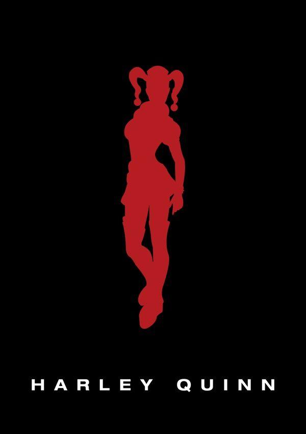 Harley Quinn Silhouette. Harley Quinn Silhouette Batman ... 22cc805031