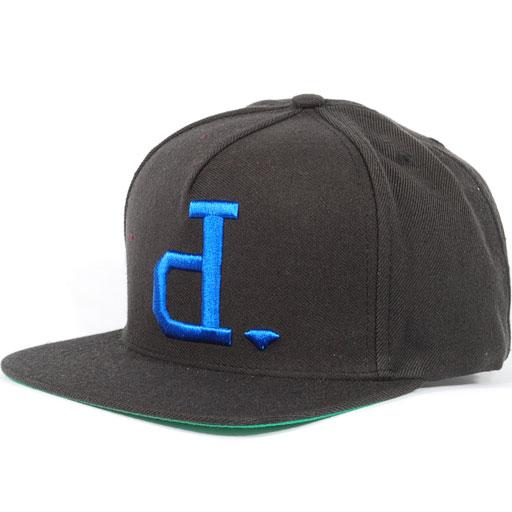 Diamond Un-Polo Snapback Hat (Black/Blue) $39.95
