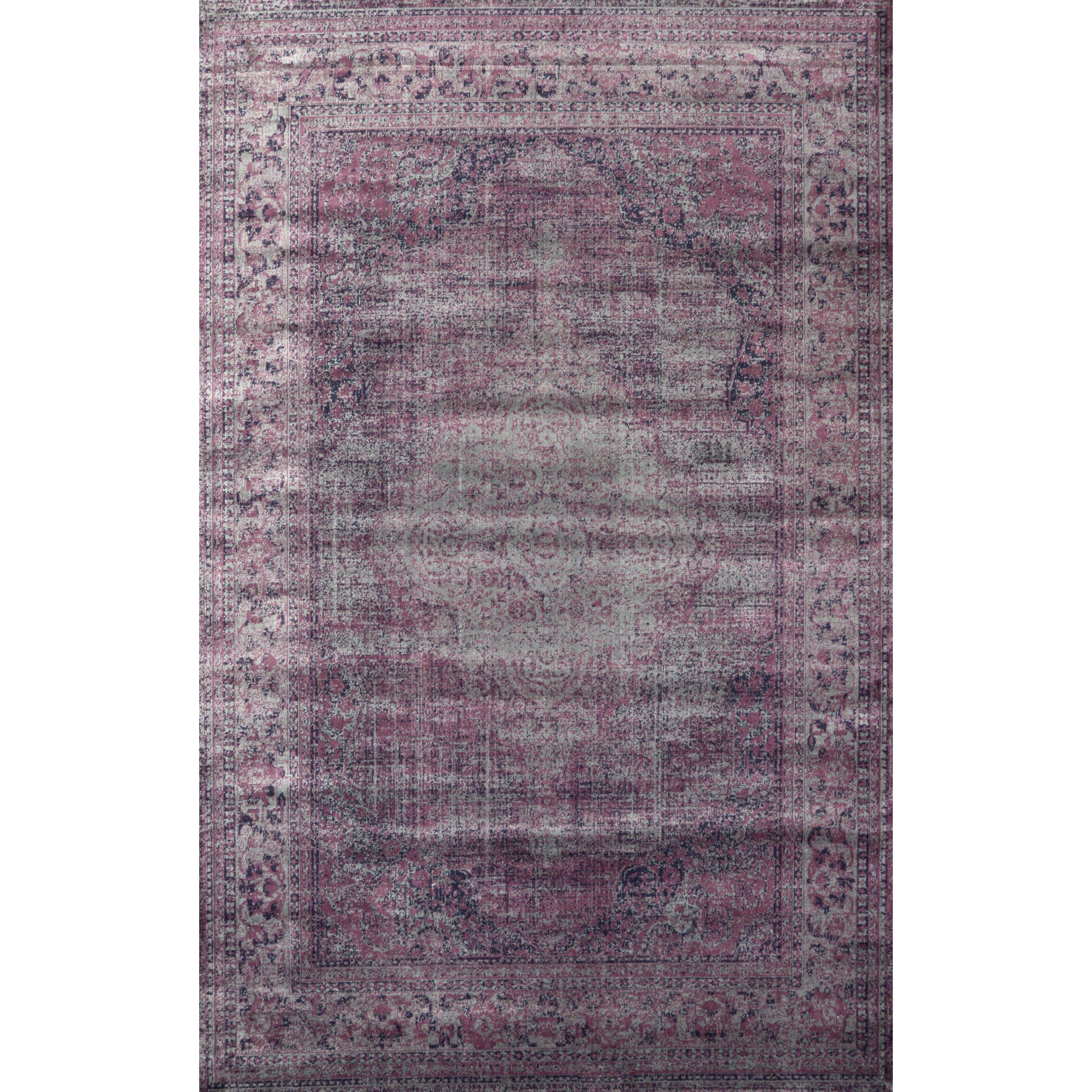 This Vintage Style Viscose Rug Brings A Classic Look To Your Contemporary  Living Space.