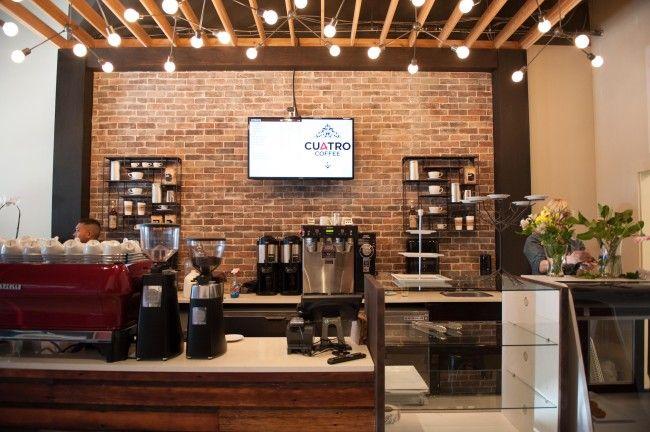 Cuatro Coffee Culture Rustic Coffee Shop Contemporary Rustic Decor Coffee Shop Design