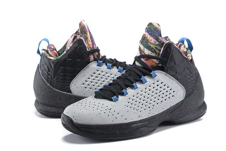 online store 05fca 96fb2 Men s Air Jordan Melo M11 Basketball Shoes Blue Graphite Metallic Silver Game  Royal 716227
