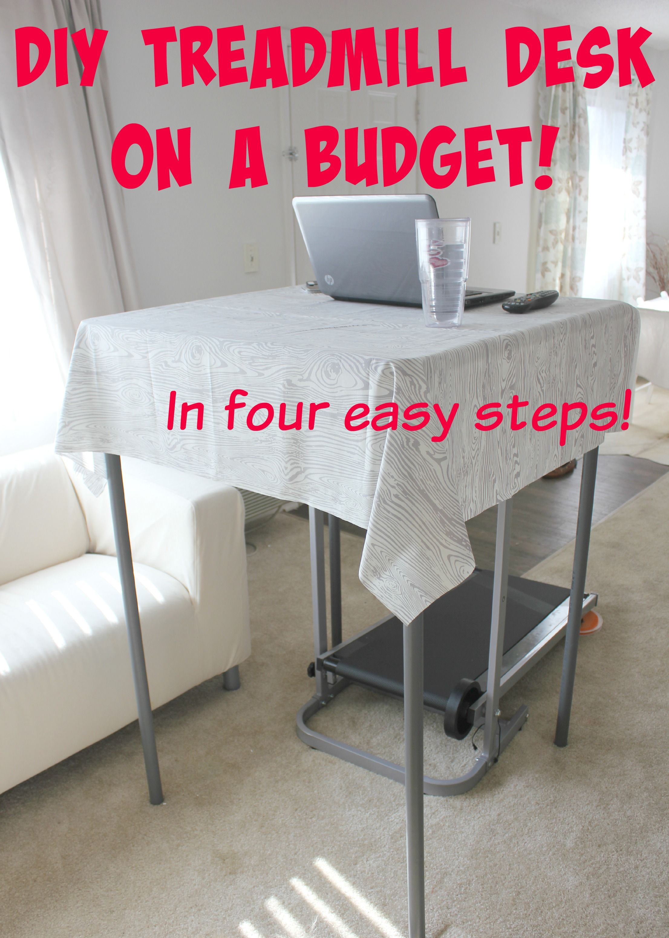 Diy treadmill desk with images treadmill desk home