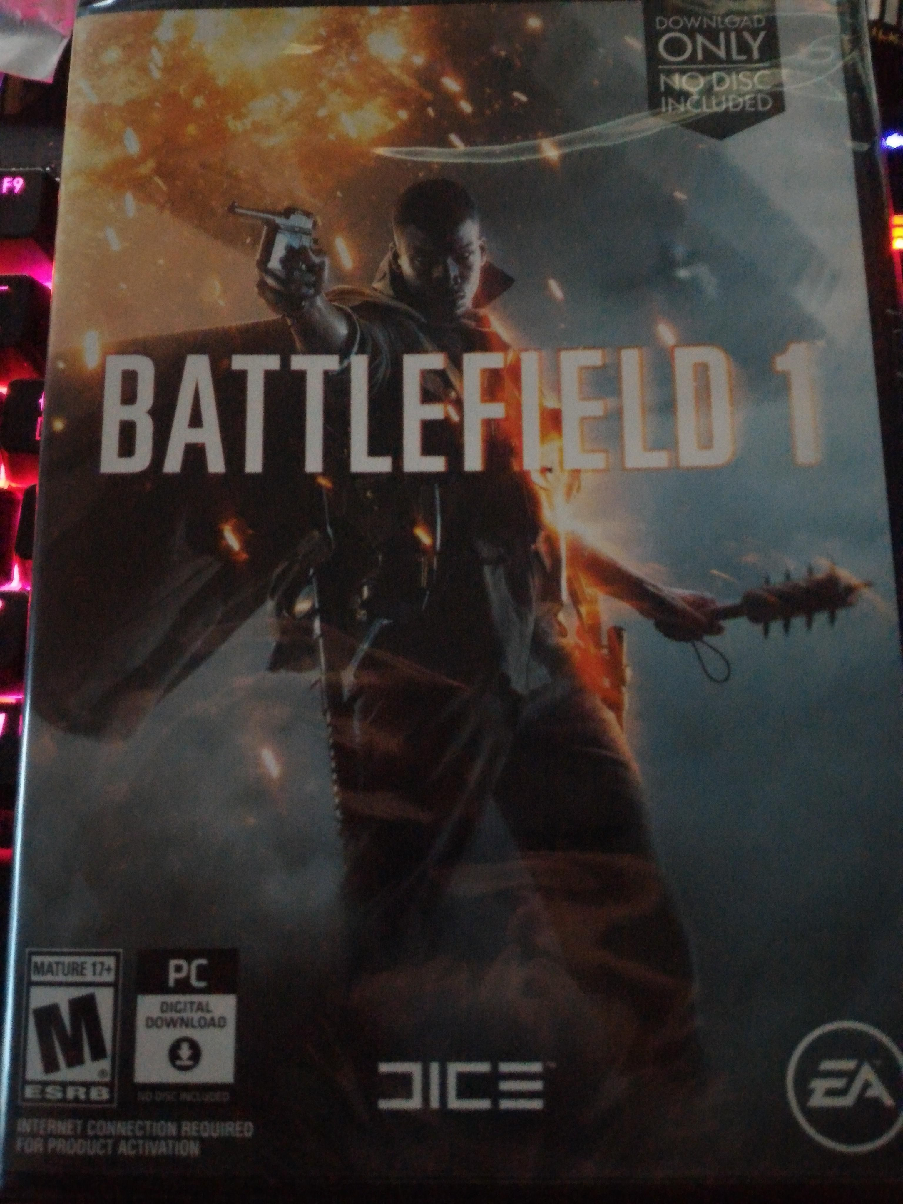 I bought battlefield 1 on black Friday and I had to wait for it to