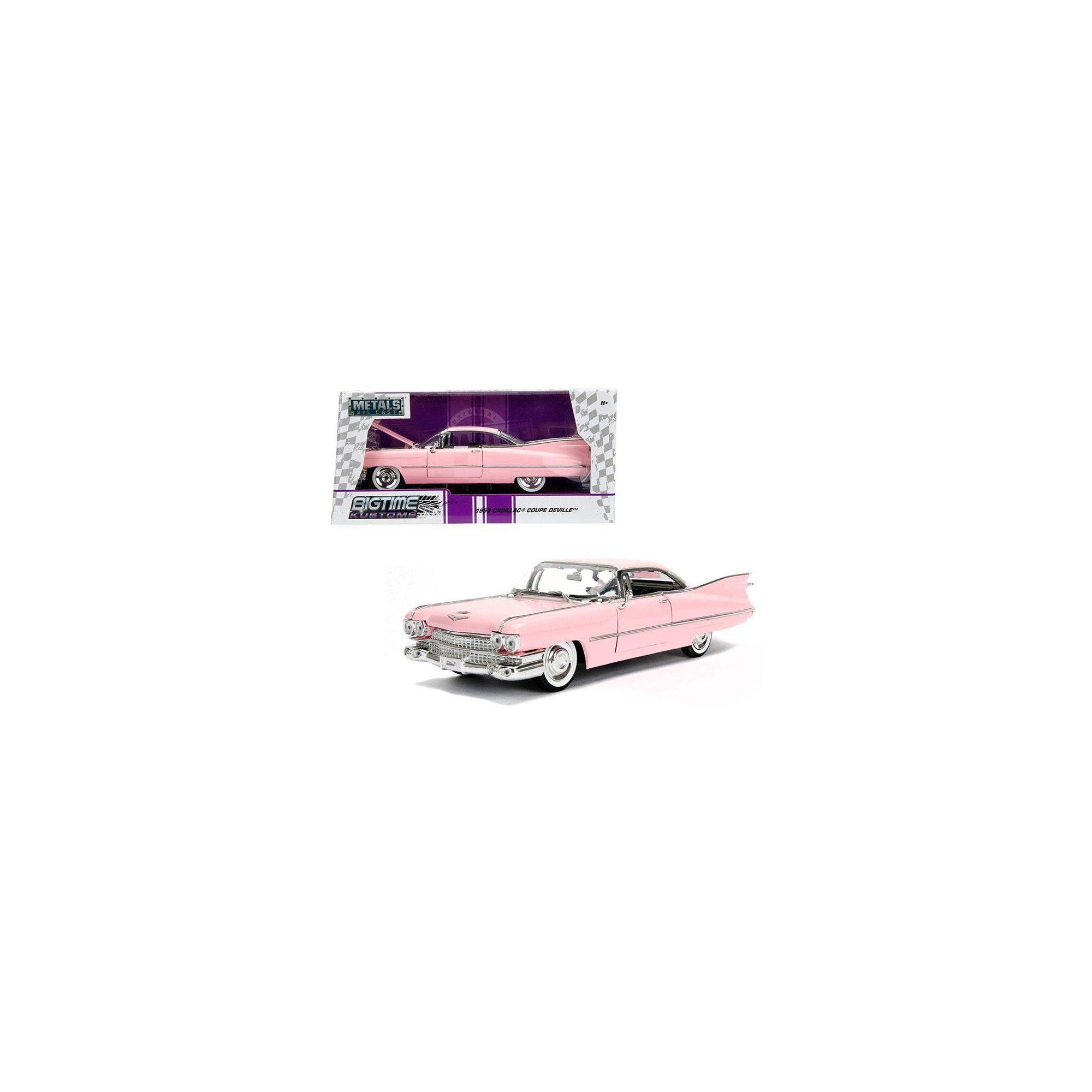 3 bett halb badezimmer ideen  cadillac coupe deville pink  diecast model car by jada
