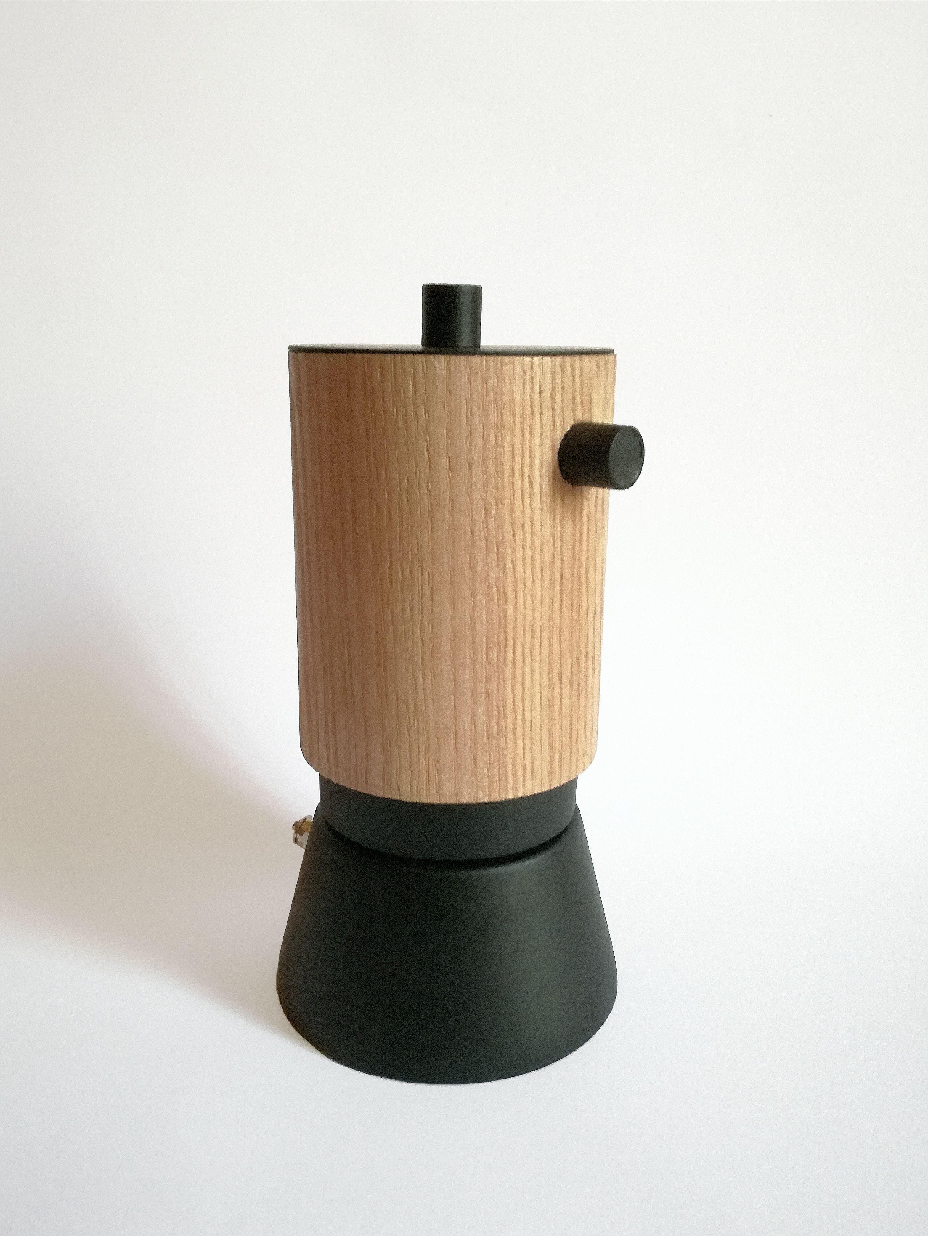 Moka  Lunika 360 Black Edition  Design Francesco Fusillo