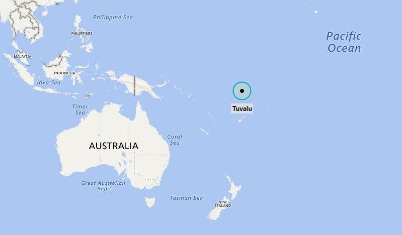 Where is Tuvalu  Oceania  Pinterest