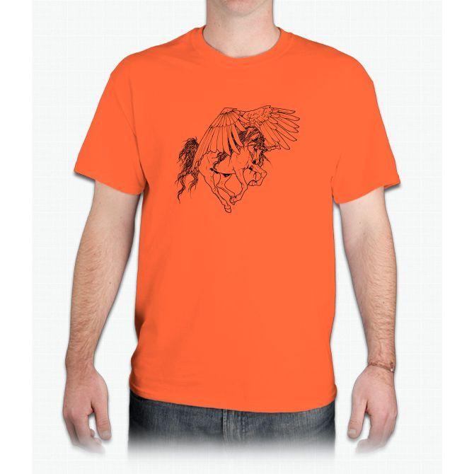 Pegasus Unicorn - Mens T-Shirt