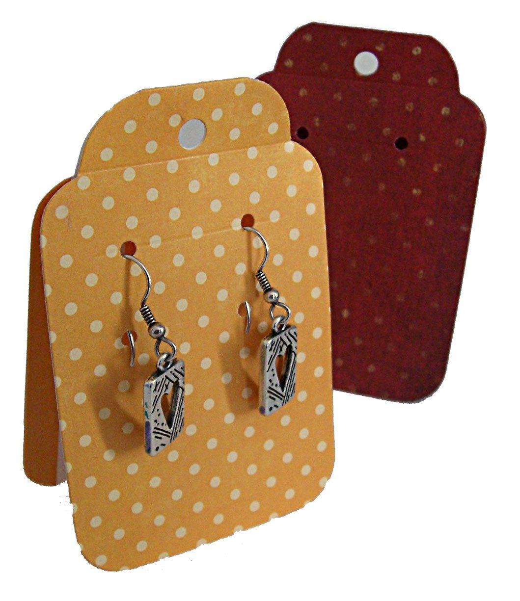 Stand Up Tent Earring Display Cards By Wildabouttags On Etsy