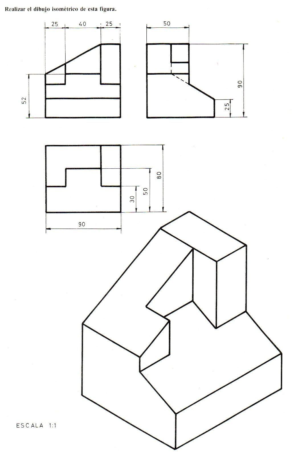 Risultato Immagini Per Plantilla Isometrica De Puntos Ejercicios De Dibujo Vistas Dibujo Tecnico Tecnicas De Dibujo