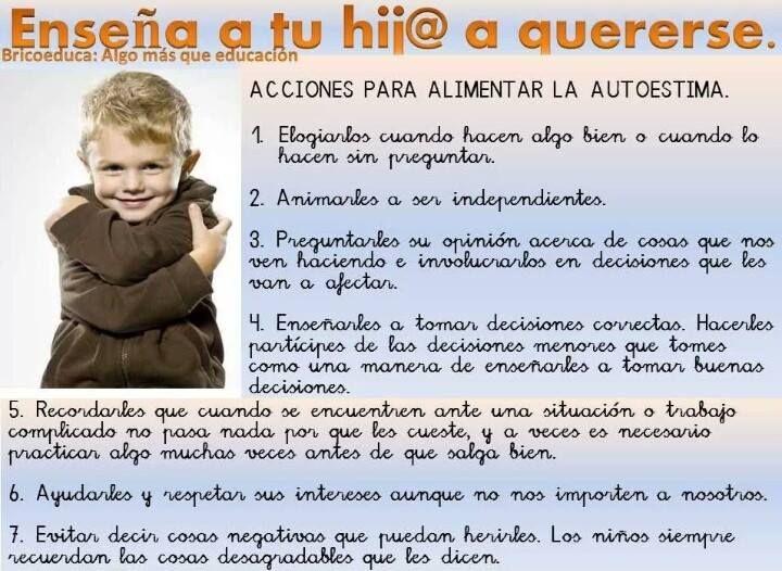 Dale Autoestima A Tu Hijo Parenting Tools Teaching Parenting