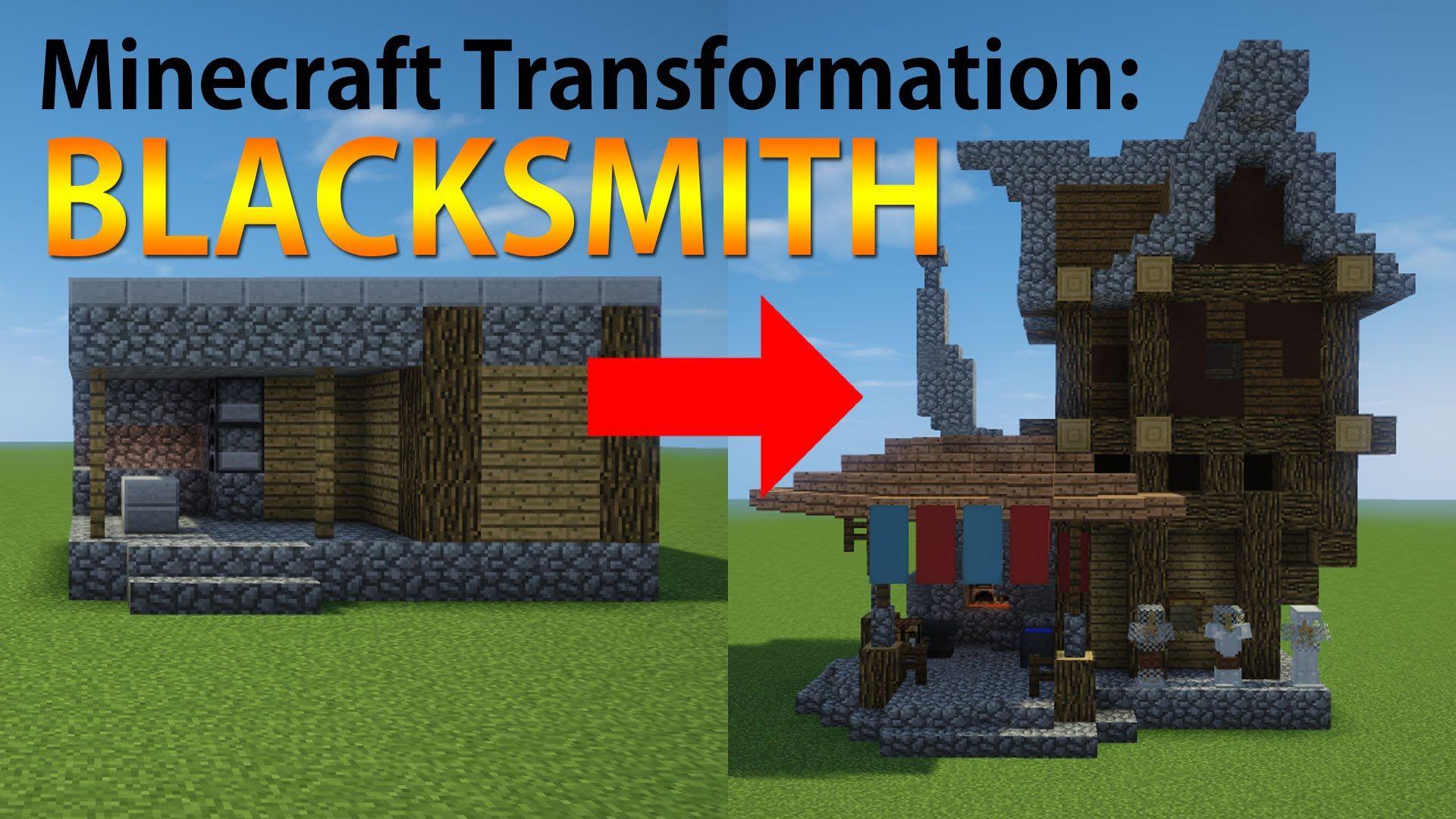 Blacksmith Shop Minecraft
