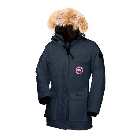 861add012 Canada Goose dame Expedition Parka med Coyote pels fôr på panseret ...
