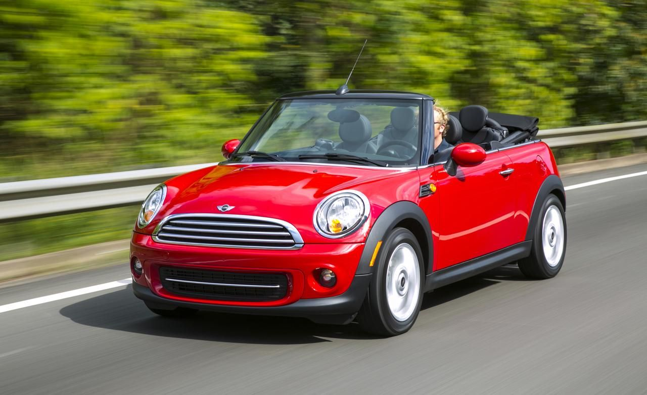 Mini Cooper Convertible Red
