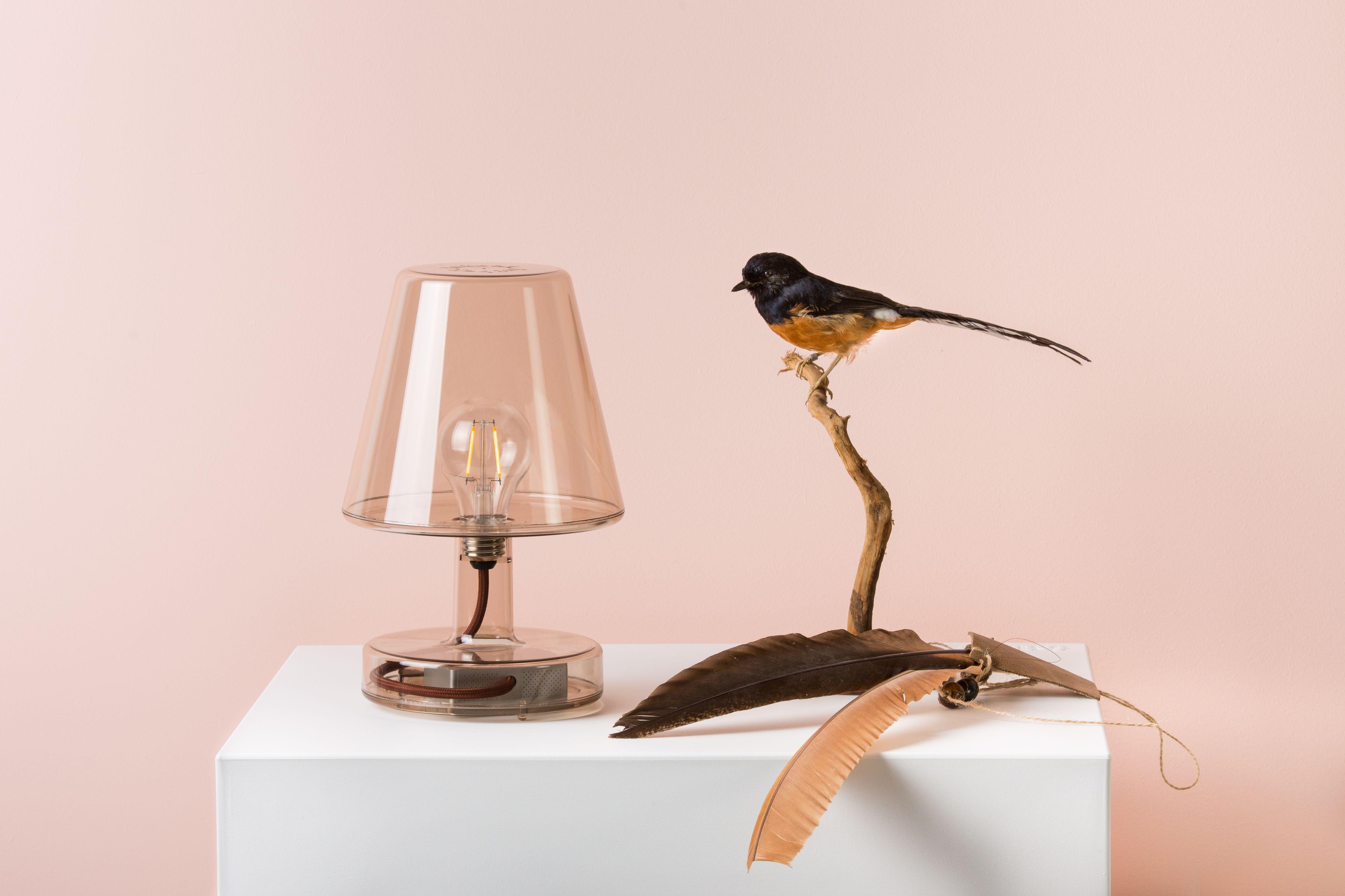 Tafellamp Transloetje Van Fatboy Brengt Een Bijzonder Transparant Karakter In Het Interieur De Lamp Heeft Dezelfde Looks Als De Oude Tafellamp Led Verlichting