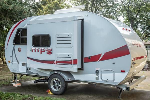 2011 Heartland MPG 181 19 ft. travel trailer Small