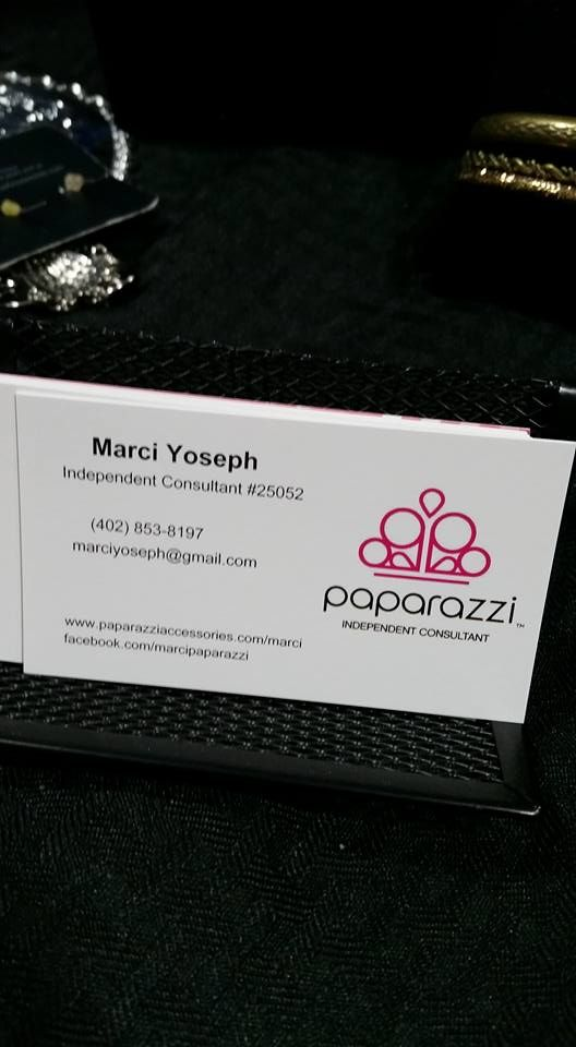 Use the Paparazzi template or create your own business