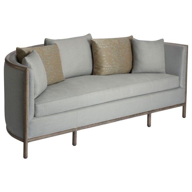 Barbara Barry Lunette Sofa Art Deco