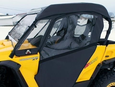 Can Am Commander 800 1000 Black Full Cab Enclosure With Vented Windshield By Mammoth Skins Can Am Commander Can Am Can Am Commander Accessories