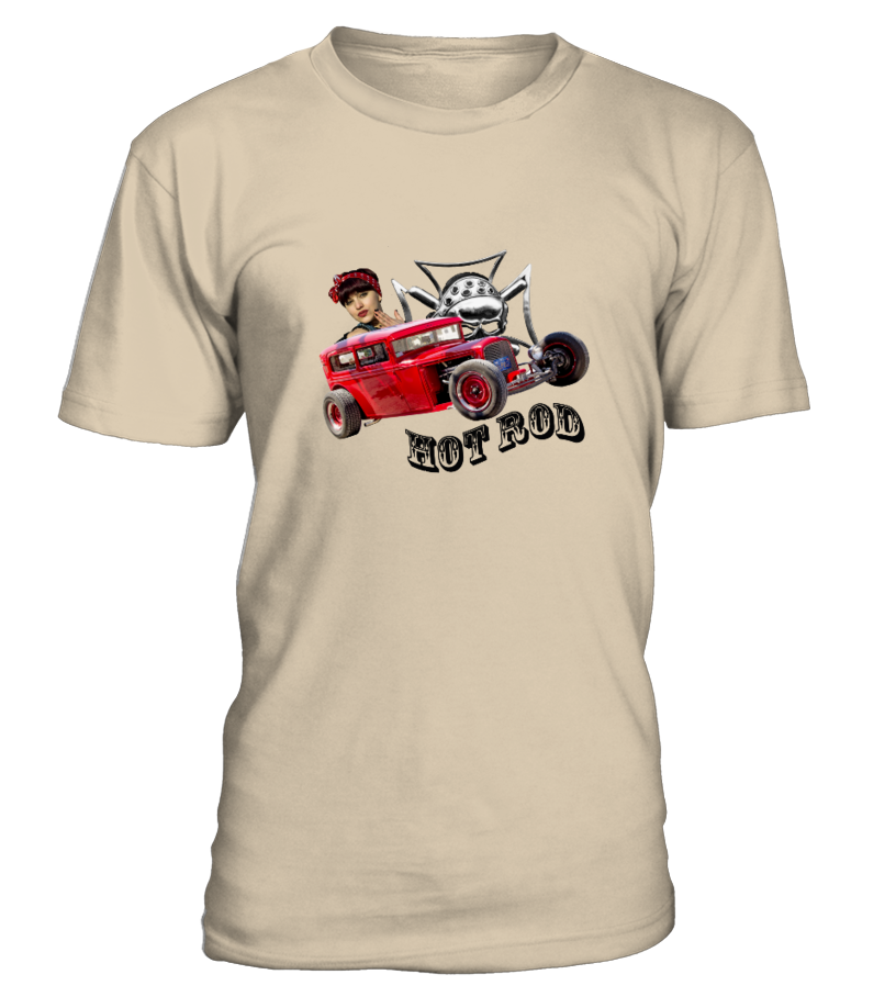 "T-Shirt H/F ""Hot Rod 1b""  #gift #idea #shirt #image #funny #campingshirt #new"
