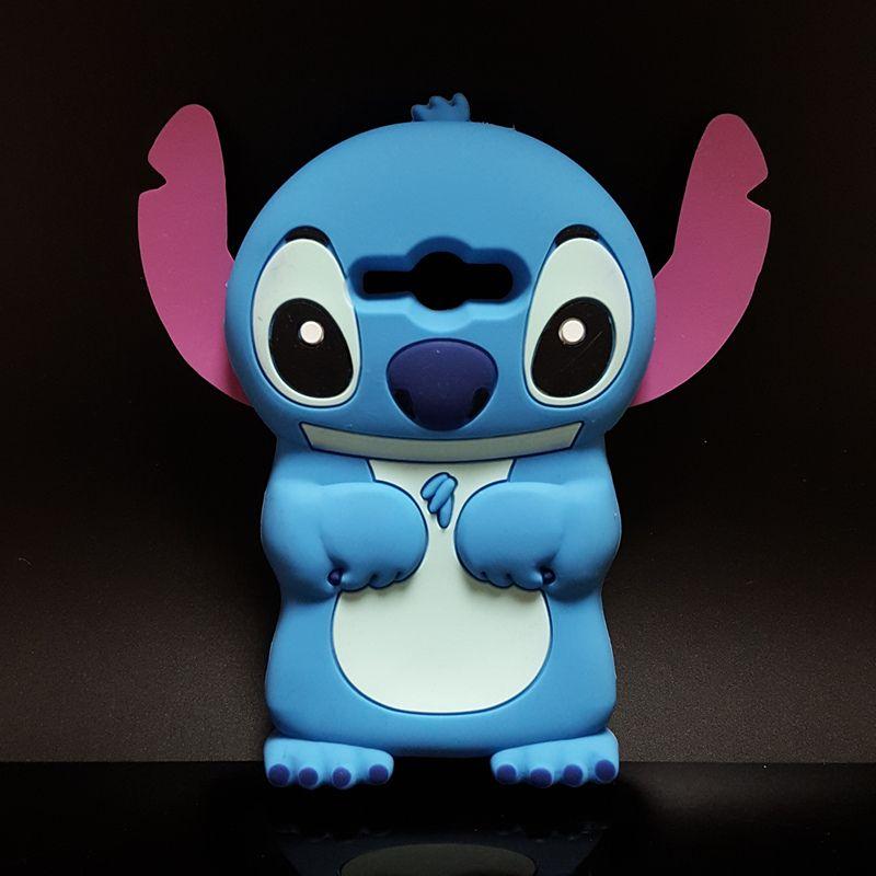 New Cute 3D Cartoon Stich Soft Silicone Back Cover Lilo Stitch ...