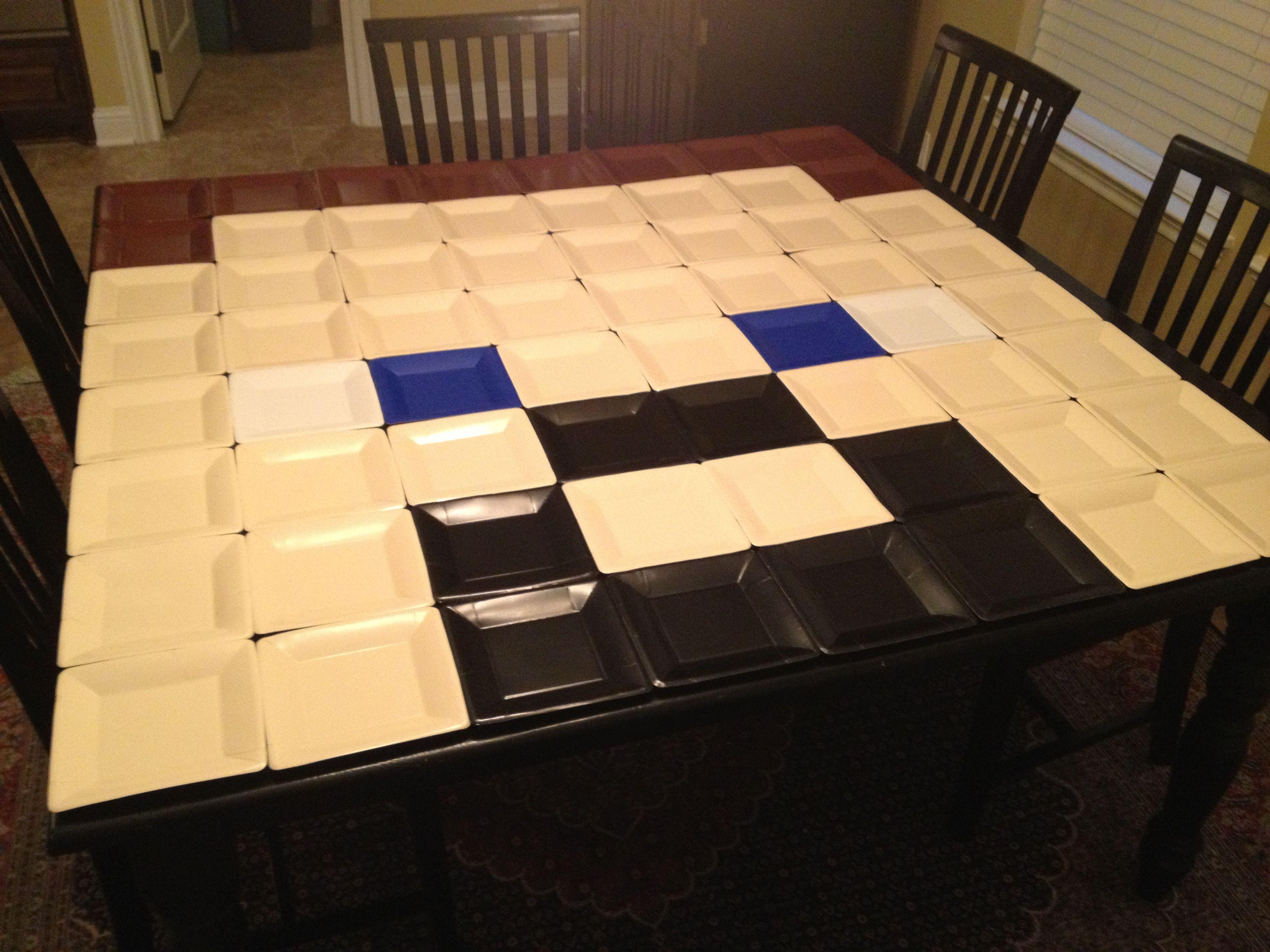 Minecraft Steve Wall Decoration Pinterest Tables
