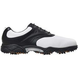 FootJoy Contour 54019 Golf Shoes White/Black/Black Tumbled