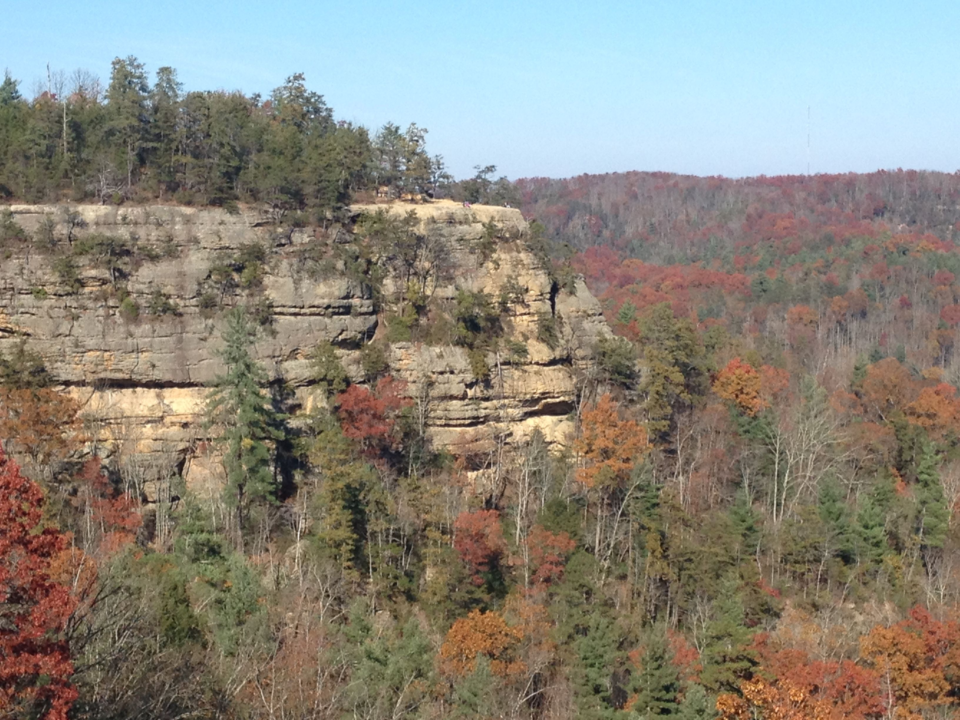 Natural Bridge Lovers Leap Kentucky Red River Gorge
