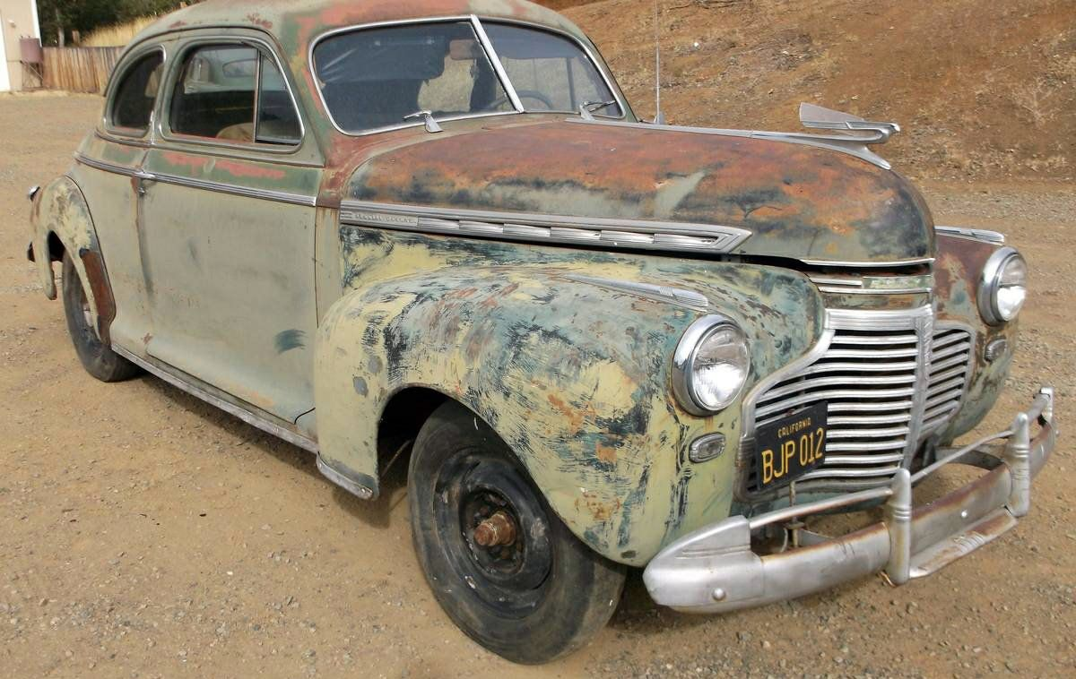 Colorful Coupe: 1941 Chevrolet Special Deluxe - http://barnfinds.com/colorful-coupe-1941-chevrolet-special-deluxe/