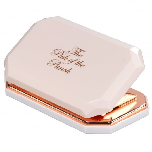 e701c4693c017 Ted Baker Womens Diamond Hole Punch Nude   Rose Gold