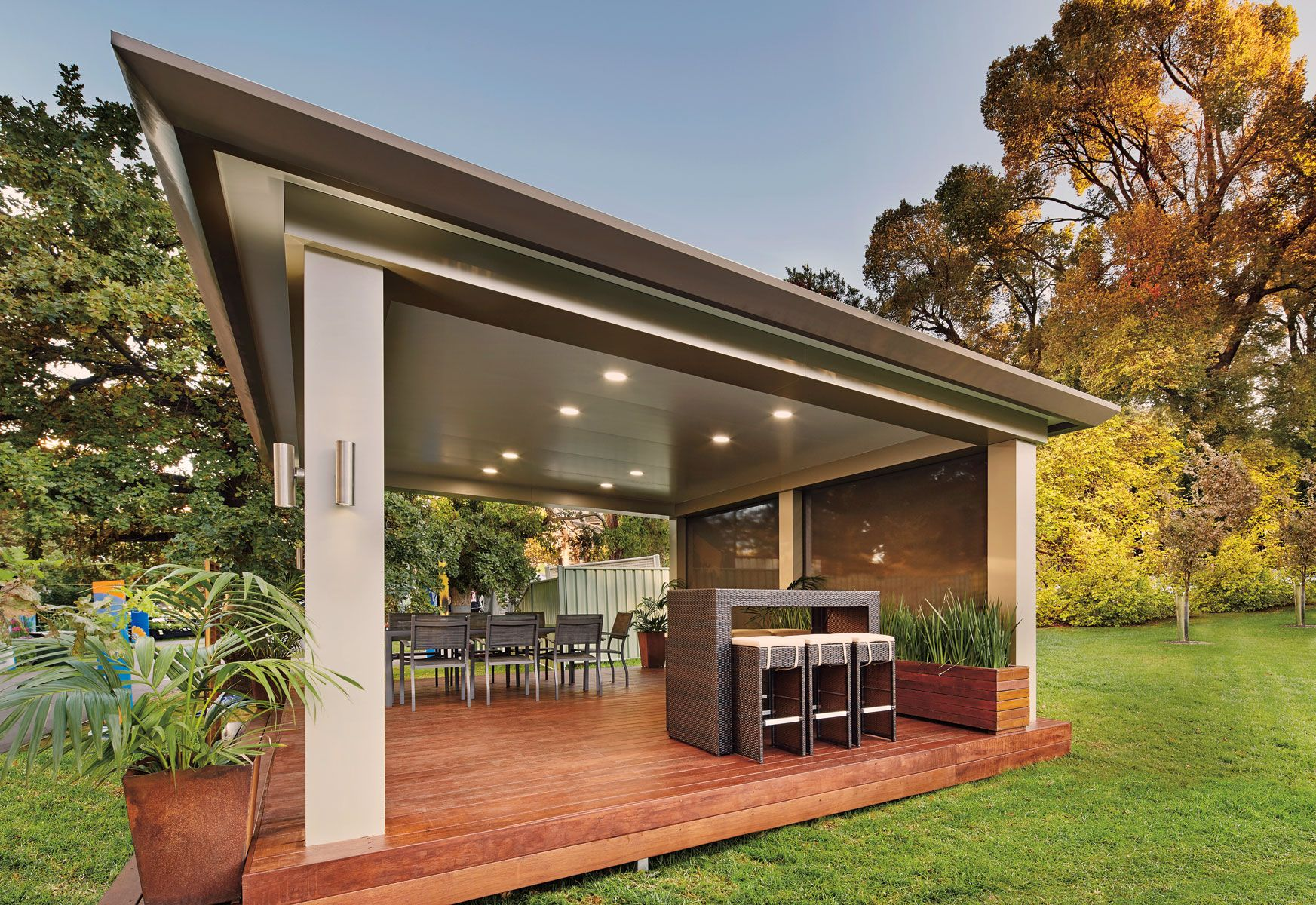 Pavilion - Outdoor Living Patio by Stratco – Architectural
