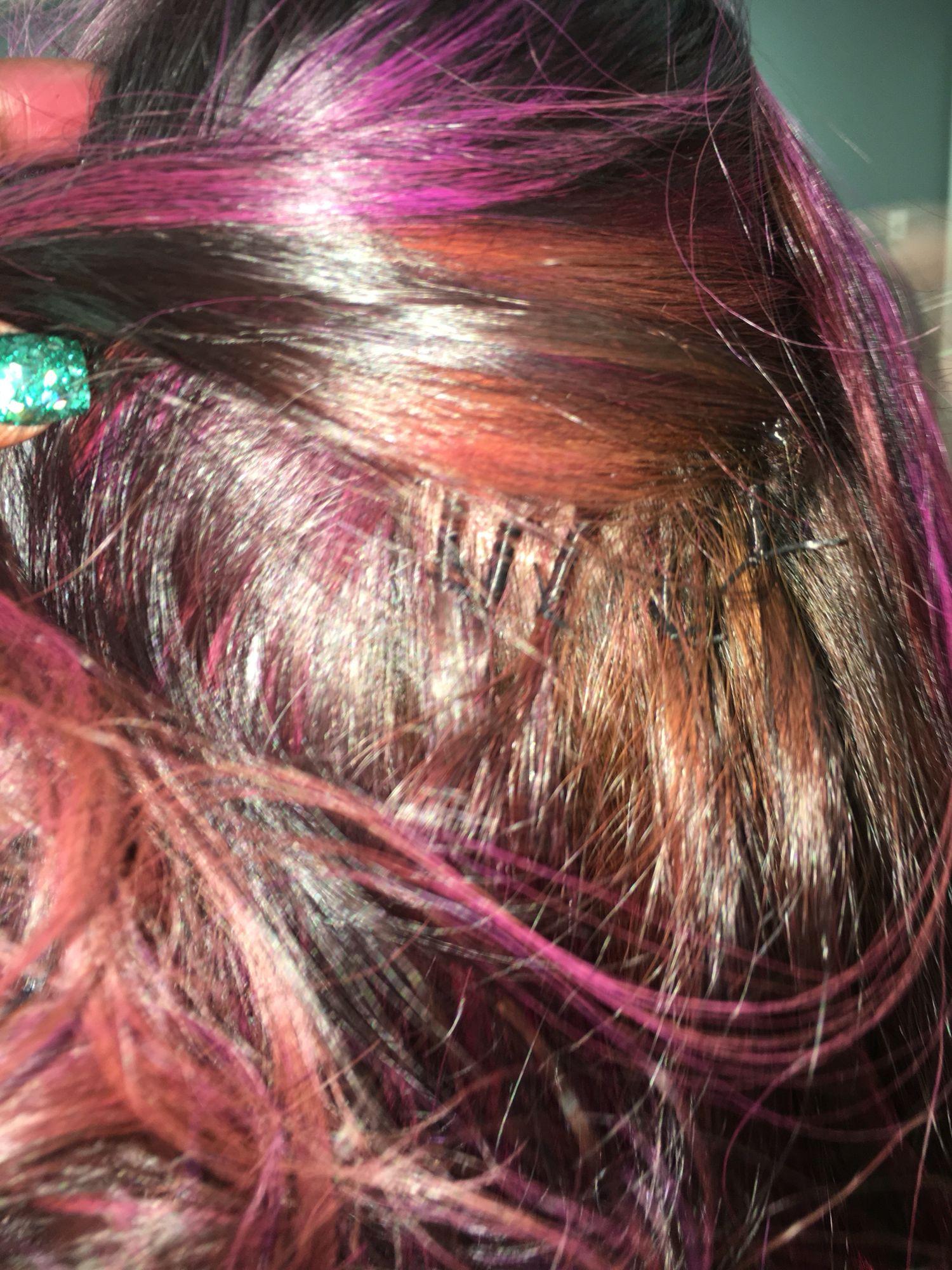 Brazilian Knots Install Luxe Lengths Hair Extensions Pinterest