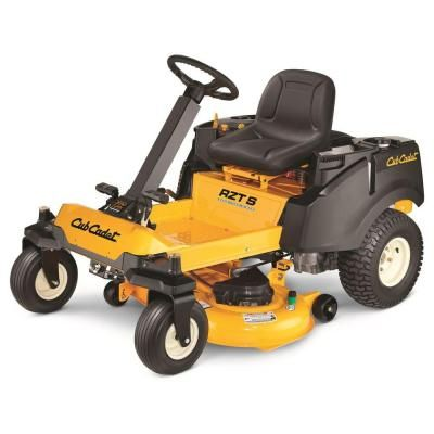 Cub Cadet Rzt S 42 In 22 Hp Kohler V Twin Dual Hydrostatic Zero Turn Riding Mower With Steering Wheel Control The Home Depot